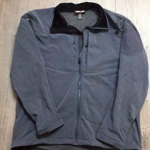 NEW Kirkland Signature Softshell Jacket Gray